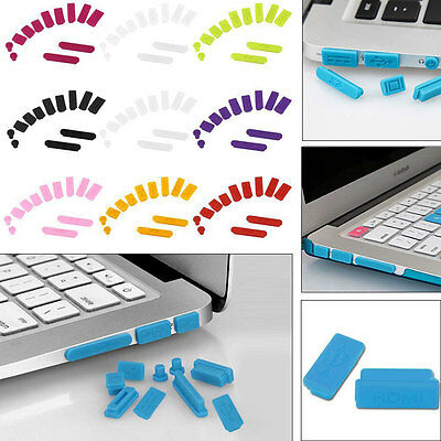 Anti Dust Plug Port Protective Case Cover for Laptop Macbook Air Retina