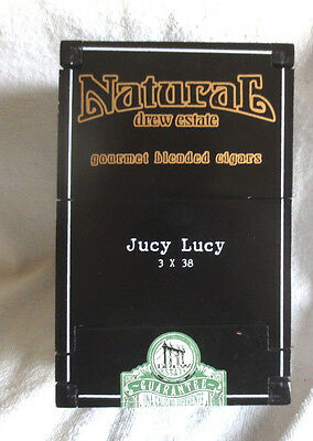 Drew Estate Jucy Lucy Black Wood Cigar Box - Beautiful!!!