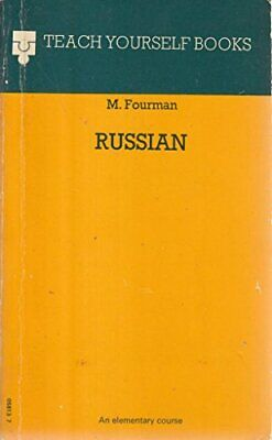 Russian (Teach Yourself) by Fourman, M. Paperback Book The Cheap Fast Free Post