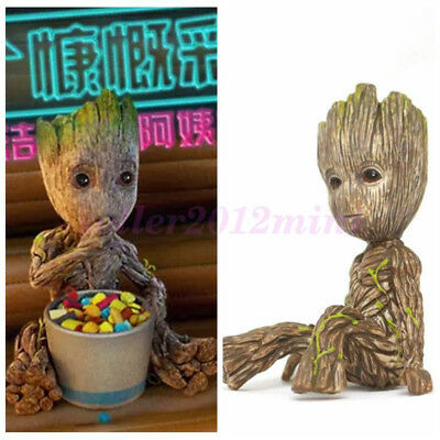 "Cute 2"" Guardians of The Galaxy Vol. 2 Baby Sitting Groot Figure Toy Gift"