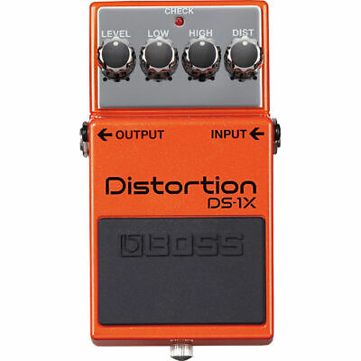 Boss DS-1X DS1X Distortion Guitar Effects Pedal New