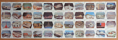 Expo 67 Fair Montreal Complete Set 44/44  Coasters
