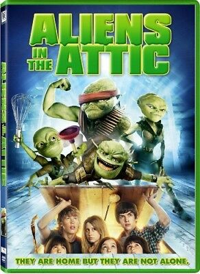 Aliens in the Attic [New DVD] Ac-3/Dolby Digital, Dolby, Dubbed, Subtitled, Wi