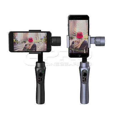 Zhiyun-Tech Smooth-Q 3 Axis Handheld Stabiliser Gimbal For Smartphone Grey UK