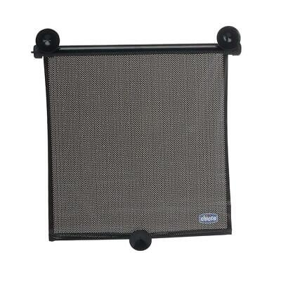Chicco Twin Pack Roller Shade (Black) Sun Mesh Window UV Protection