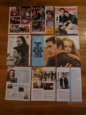 RARE 13 Reasons Why Posters & Articles! Dylan Minnette Katherine Langford