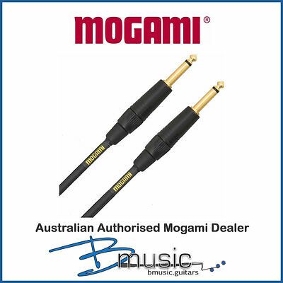 Mogami Gold 6' Instrument Cable - Authorised Australian Mogami Dealer