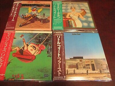 Little Feat Japan Replica Obi 5 Titles 6 Cd Set Limited Editions One Time Price