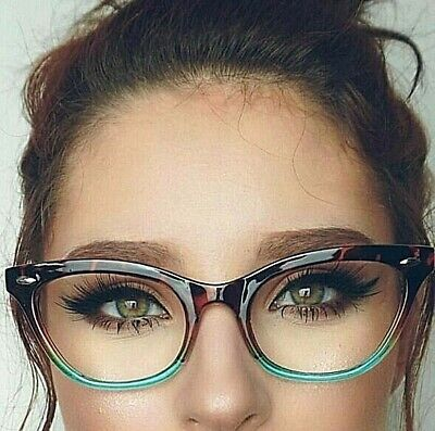 "Cat Eye Vintage Retro ""Ombre""  BAMBI Women Eyeglasses TORTOISE"