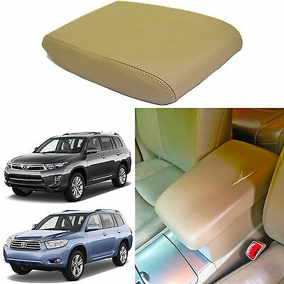 Beige Replacement Center Console Cover For 2008-2013 Toyota Highlander New USA