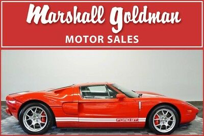 2005 Ford Ford GT Base Coupe 2-Door 2005 Ford GT in Mark IV Red on Ebony One of fewer than 20 Red 4,243 miles