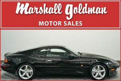 2003 Aston Martin DB7  2003 Aston Martin DB7 GT Onyx black with Black 2+2, 6 speed manual 9,100 miles