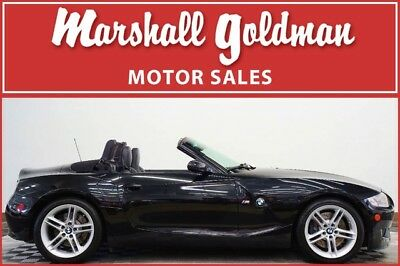 2007 BMW M Roadster & Coupe M Roadster Convertible 2-Door 2007 BMW Z4 M Roadster Sapphire Black with Black 49400 miles