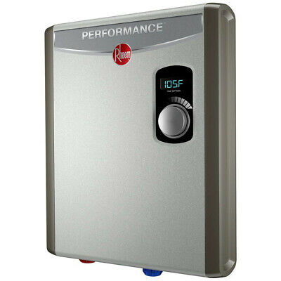 rheem 4.4 gpm rte 18 electric tankless water heater rtex18 new