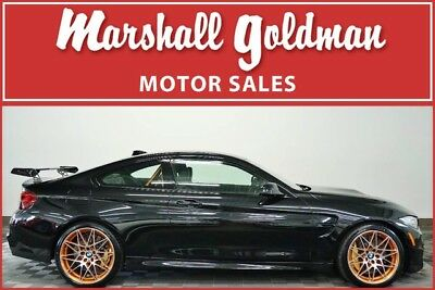 2016 BMW M4  2016 BMW M4 GTS in Sapphire Black Metallic over Black Leather only 372 miles