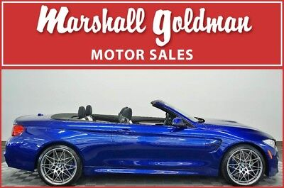 2017 BMW M4 Base Convertible 2-Door 2017 BMW M4 convert San Marino Blue w/Black & Opal Merino Leather only 736 miles
