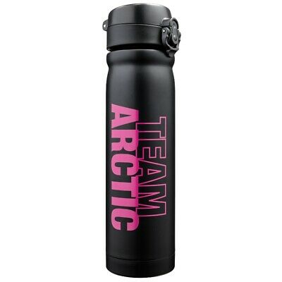 Arctic Cat Stainless Steel lined Tumbler Water Bottle - Lime Green or Black Pink