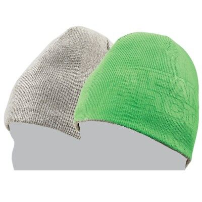 Arctic Cat Youth Team Arctic Reversible Acrylic Beanie - Green & Gray - 5283-118