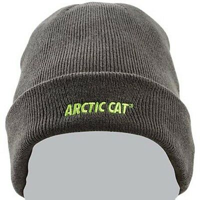 Arctic Cat Embroidered Winter Watchman Acrylic Knit Beanie - Black - 5283-111