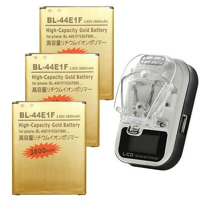 3800mAh High-Capacity BL-44E1F Battery / Dock Charger for LG V20 H910 H918 LS997