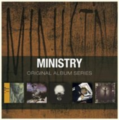 Ministry-Original Album Series  CD NEW