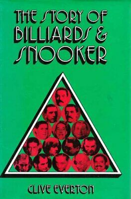 Story of Billiards and Snooker by Everton, Clive Hardback Book The Cheap Fast
