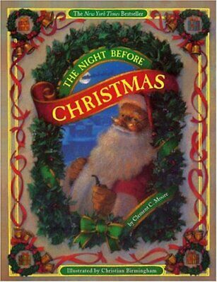 The Night Before Christmas (board book) by Moore, Clement Paperback Book The