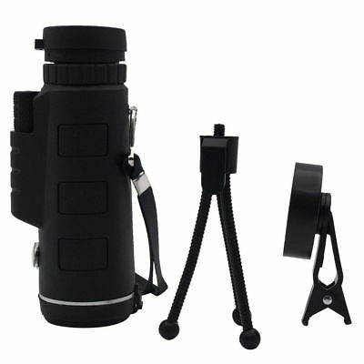 40x60 Single Optical HD Monocular Cell Phone Camera Lens Telescope For Iphone 6