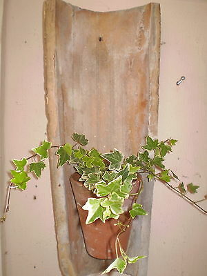 Beautiful Vintage Large French Clay Tile Garden Courtyard Wall Planter