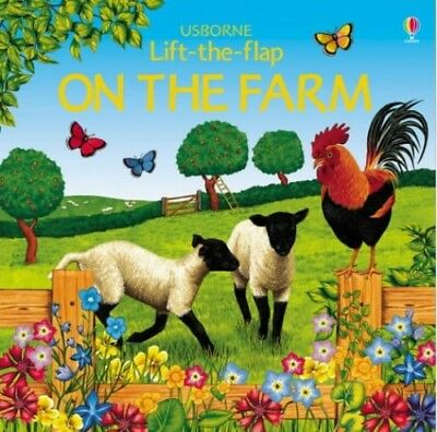 On the Farm (Usborne Lift the Flap Learner) by Smith, Alastair Paperback Book