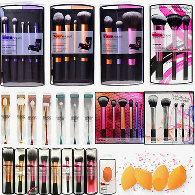 Make up Brushes Real Techniques Travel Essentials/Starter/Core Collection Set