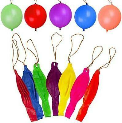 10 Large Punch Balloons Kids Children Pinnata Toys Goody Party Loot Bag Fillers