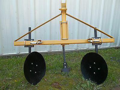 Rei 3 Pt Hitch Disc Bedder Garden Bedder