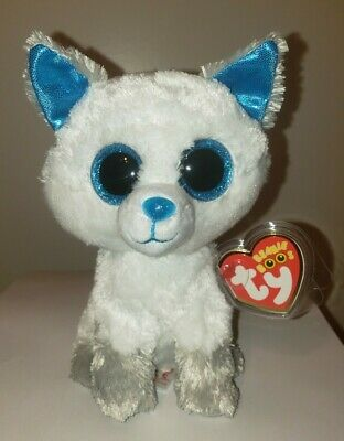 """Ty Beanie Boos - FROST the 6"""" Canada Exclusive Arctic Fox ~ 2017 NEW ~ IN HAND"""