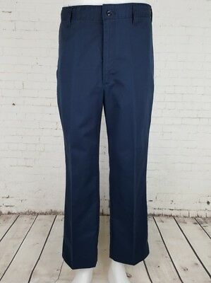 Vtg Blue Tapered Engineered Workwear CCA Trousers USA Urban Skater W32 EF25