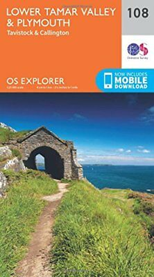 Lower Tamar Valley and Plymouth (OS Explorer Map) New Map Book Ordnance Survey