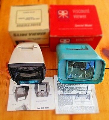 Vintage Viewer (Paterson Viscount Special Model )+ One Other Viewer Both Boxed