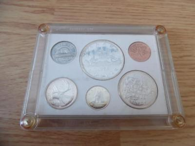 1965 Canada Proof-Like Silver 6 Coin Mint Set