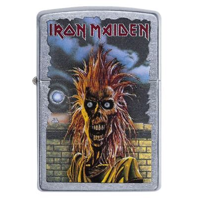 Official Licensed Iron Maiden Skeleton Street Chrome Zippo Lighter