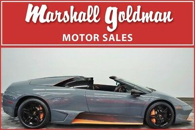 2010 Lamborghini Murcielago  2010 Lamborghini Murcielago LP 650-4 Roadster no. 49 of 50 built, 163 miles!!