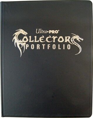 Ultra Pro : 9-Pocket GAMING Portfolio black - Sammelalbum