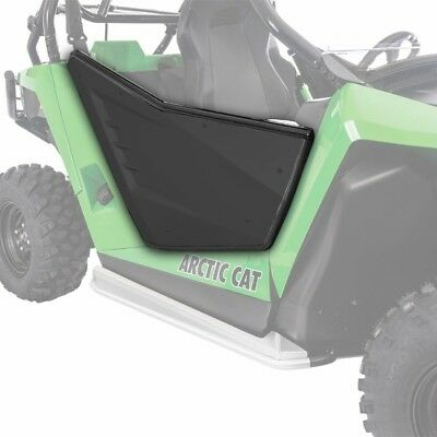 Arctic Cat 2014-2016 Wildcat Trail Sport Aluminum Doors Matte Black - 1436-984