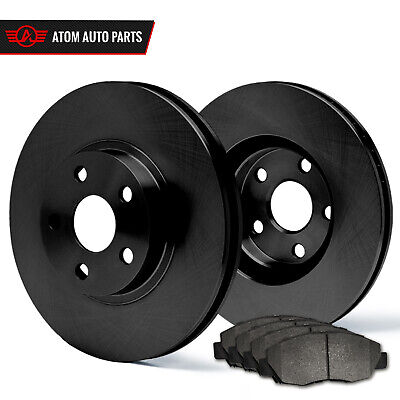 1996 1997 1998 Honda Civic EX Cpe (Black) OE Rotors Metallic Pads F