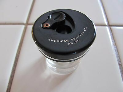 Vintage American Seating School Desk Inkwell No. 60 NOS Brand New