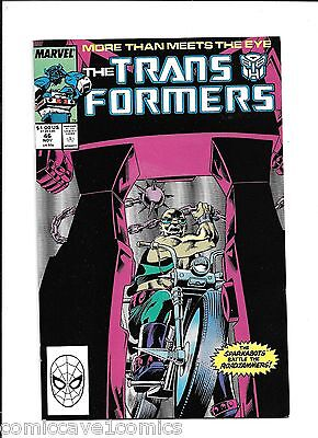 Transformers #46   Very Fine (8.0)   Sparkabots and Roadjammers Battle   1988