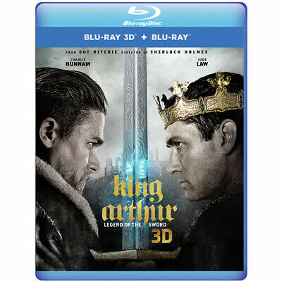 King Arthur: Legend Of The Sword [New Blu-ray 3D] Manufactured On Demand, With