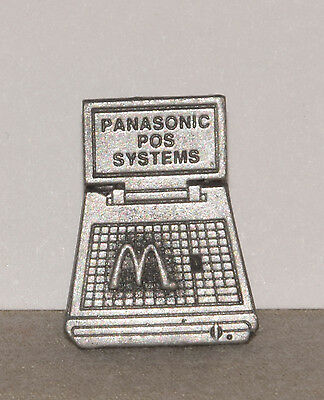 Vintage 80s McDonald's Panasonic POS Systems Pin