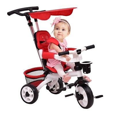 4-in-1 Detachable Baby Stroller Tricycle training toy bike 10 months-5 Years old