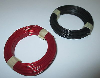 [1m = Hook-Up Wire 0,5MM Copper 2 Rings A 10 Meter Enlisting COLOUR SELECTION
