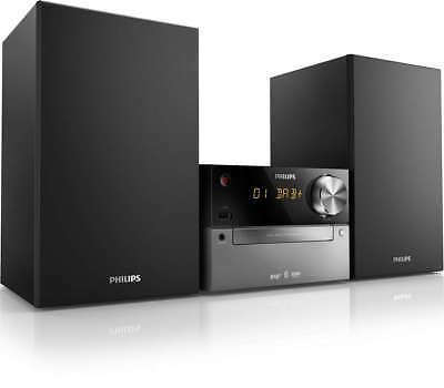 Philips BTB2315 Home Audio Set Micro Music System 20W DAB+ & FM Compatible A